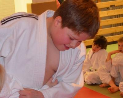 Judo für 8 bis 12 jährige Schulkinder