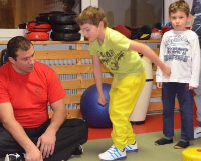 Wing Chun - Kung Fu - Fun Probetraining für Vorschulkinder von 3 bis 5 Jahren