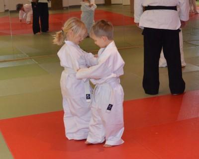 Judo Fun für 4 und 5 jährige Vorschulkinder