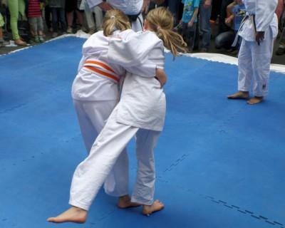 Judo Probetraining für 8 bis 12 jährige Schulkinder
