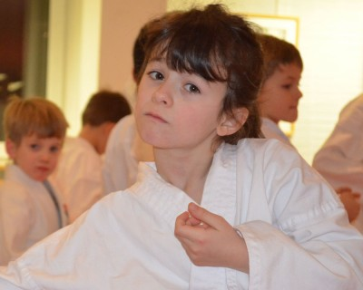 Karate Probetraining für Kinder von 5 bis 10 Jahren