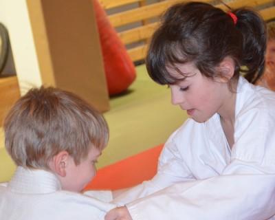 Judo Probetraining für 6 bis 8 jährige Schulkinder